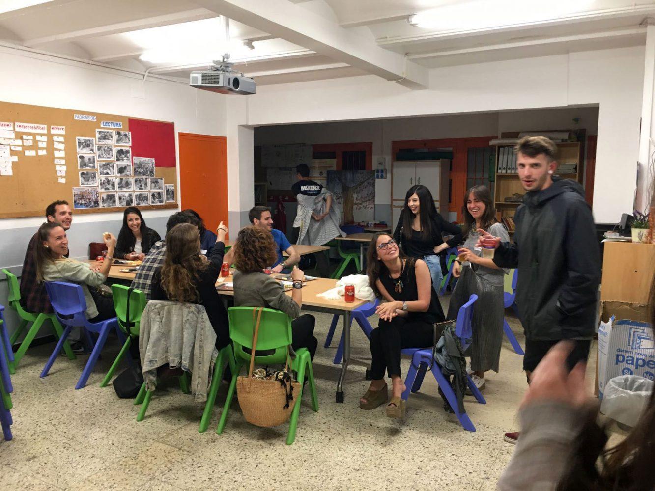 Sopar d'antics alumnes