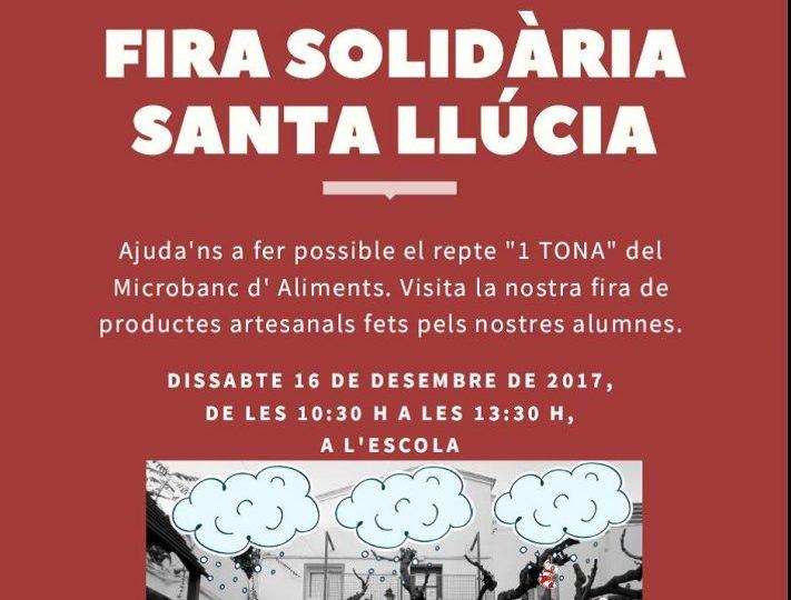 Fira Solidària de Santa Llúcia