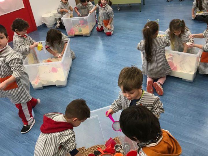 Treballem per ambients a Educació Infantil