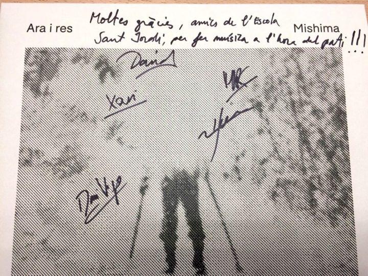 Gràcies als Mishima!