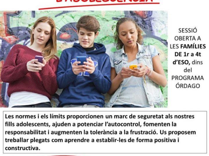 Escola de pares: Normes i límits a l'adolescència