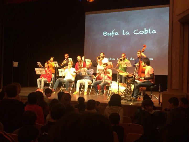 Concert de cobla al Sardatic