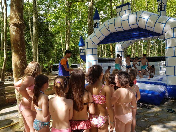 Jocs d'aigua a Vallgorguina!