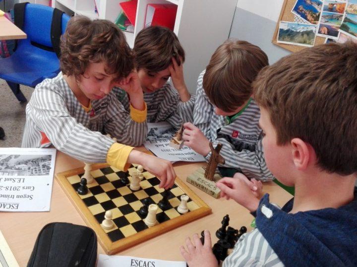 Trofeus per als millors escaquistes!