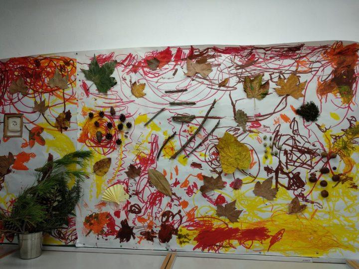 Ja tenim el nostre mural de la tardor!