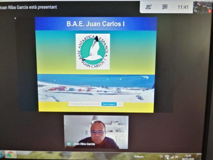 Videoconferència amb l'Antàrtida!