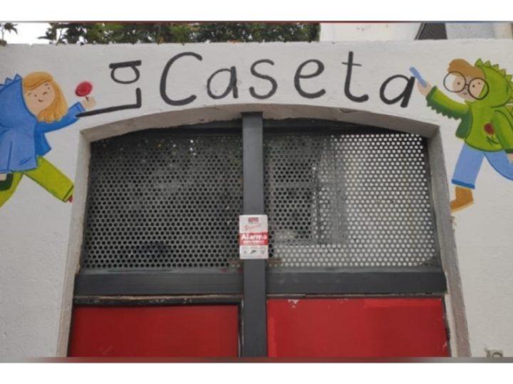 Estrenem il·lustracions a l'accés de la Caseta